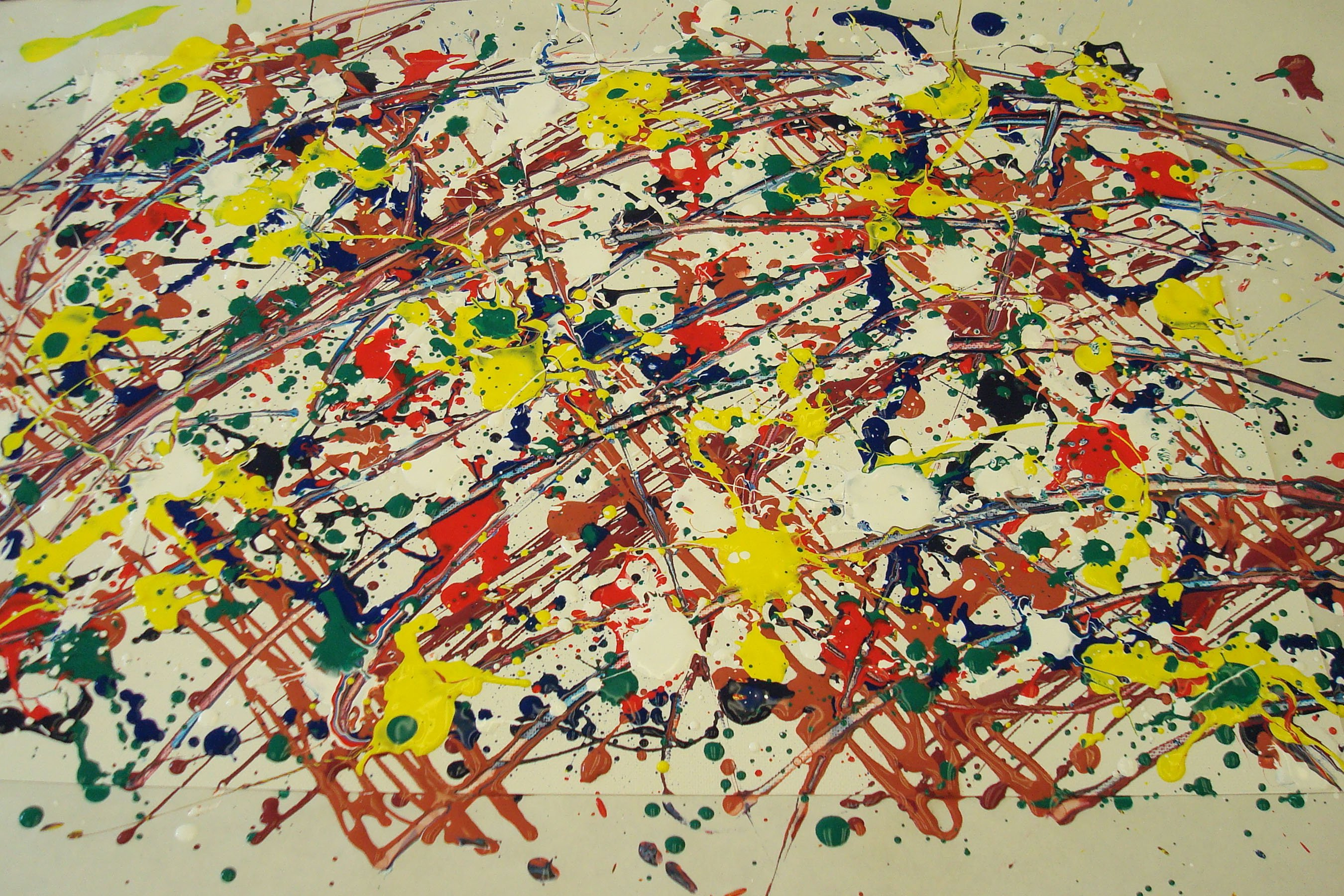 TheCreativeNet - Pollock