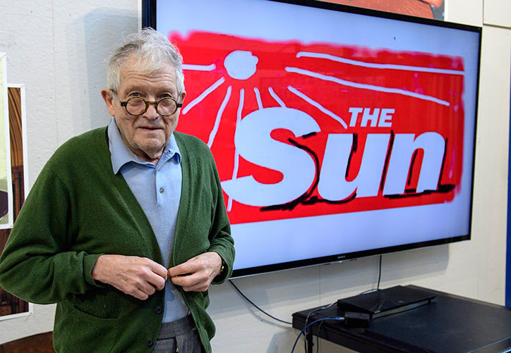 DAVID_HOCKNEY_WITH_SUN_LOGO