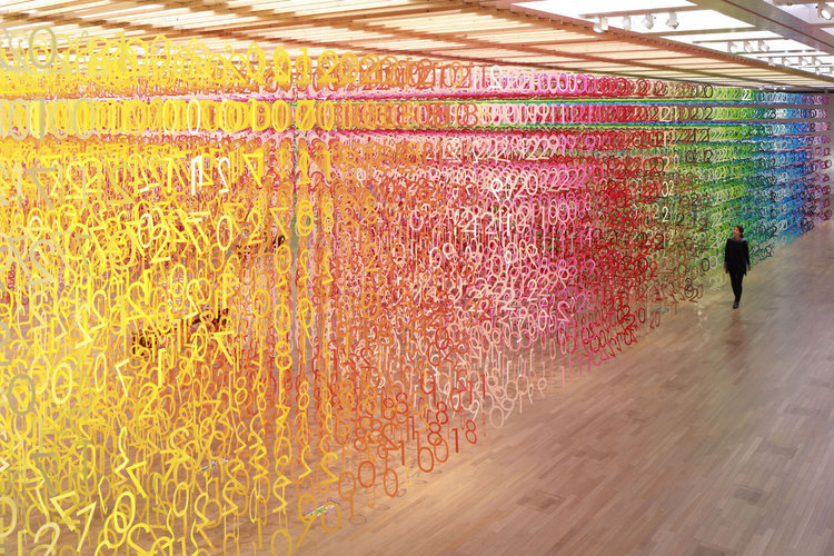 emmanuelle-moureaux-forest-of-numbers-paper-art-installation-3