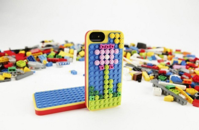 Funda móvil iphone Lego