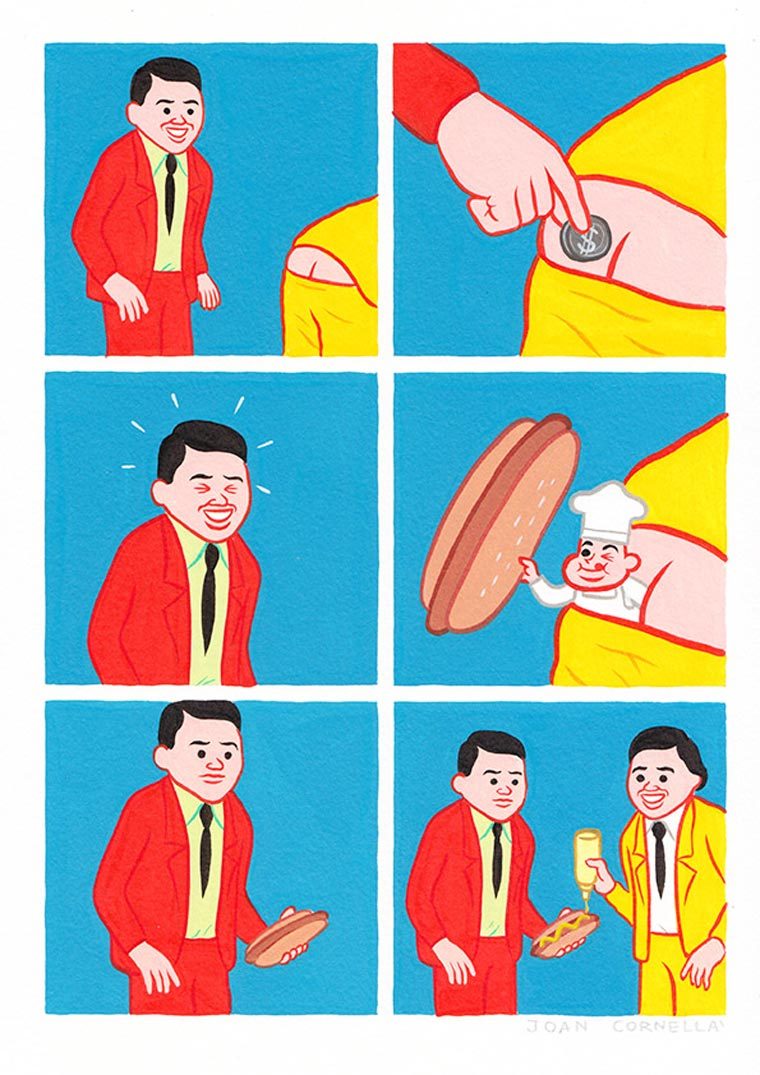 TheCreativeNet Joan Cornellà moneda