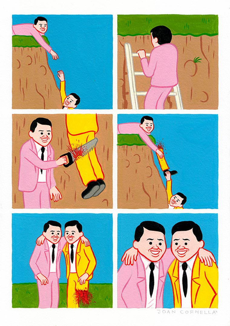 TheCreativeNet Joan Cornellà pierna