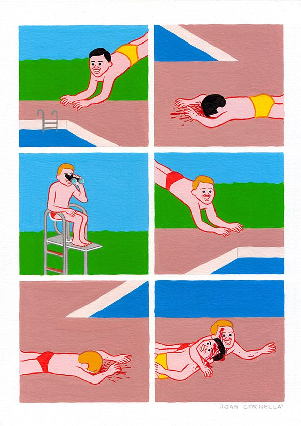 TheCreativeNet Joan Cornellà piscina