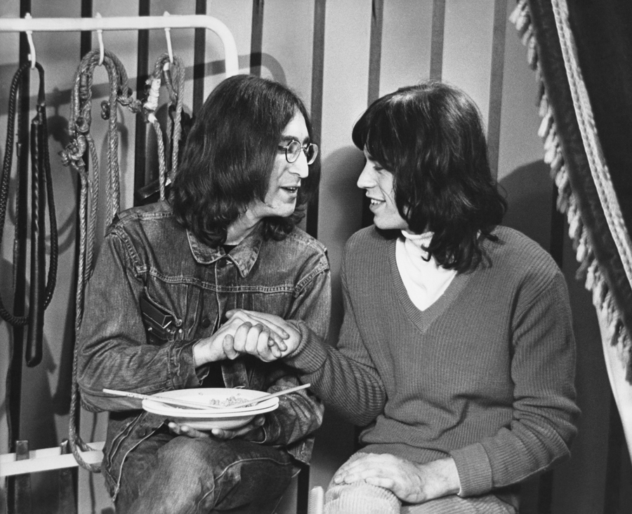 TheCreativeNet - John Lennon and Keith Richards