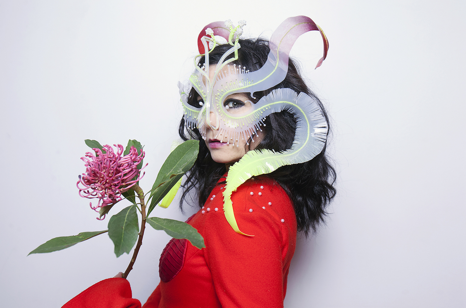 Singer Bjork poses for a portrait on October 27, 2016 in Montreal, Canada. (Photo by Santiago Felipe/Getty Images Portrait)