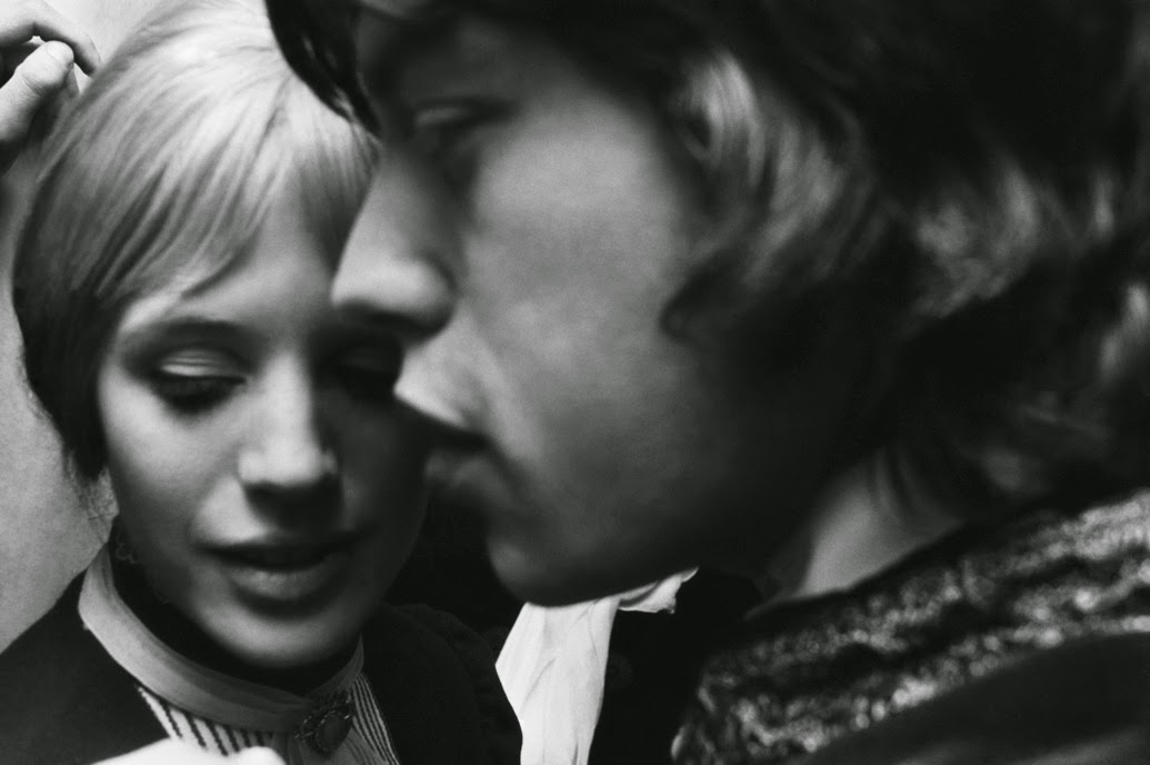 TheCreativeNet - Marianne Faithfull y Mick Jagger